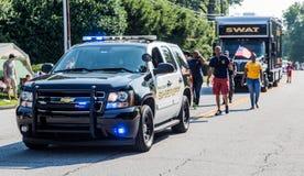 迪卡尔布县警长和拍打 图库摄影