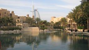 迪拜一点威尼斯 免版税图库摄影