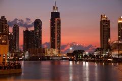 迪拜企业海湾 免版税库存图片