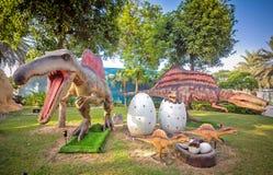 迪拜侏罗纪公园 库存照片