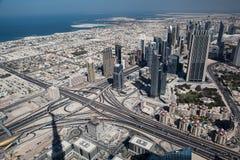 迪拜全景 库存照片