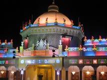 迪拜全球阿拉伯联合酋长国村庄 免版税库存照片
