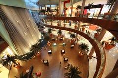 迪拜内部购物中心视图 免版税库存图片