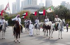 迪拜军队特殊任务小组 免版税库存照片