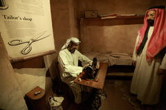 迪拜博物馆 免版税库存照片