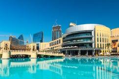 迪拜商城外部 免版税图库摄影