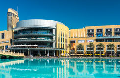 迪拜商城外部 免版税库存图片