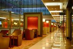 迪拜国际机场内部 库存图片