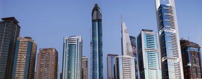 迪拜地平线 免版税库存照片