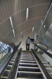 迪拜地铁台阶 库存图片