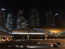 迪拜地铁车站 库存图片