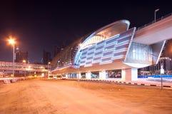 迪拜地铁车站 图库摄影