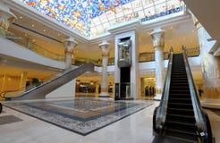 迪拜埃及购物中心主题的wafi 免版税库存照片