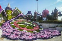 迪拜奇迹庭院 免版税图库摄影