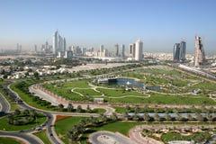 迪拜室外视图 免版税图库摄影
