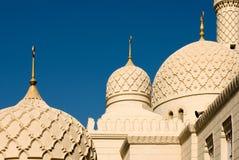迪拜尖塔清真寺 免版税图库摄影