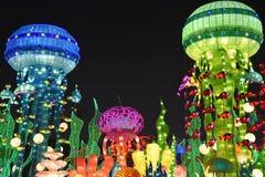 迪拜庭院焕发在迪拜,阿拉伯联合酋长国 免版税库存照片