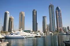 迪拜新的城镇 图库摄影