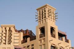 迪拜旅馆jumeira阿拉伯联合酋长国 免版税图库摄影
