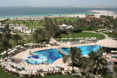迪拜旅馆jumeira阿拉伯联合酋长国 库存图片
