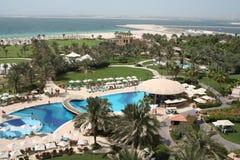 迪拜旅馆jumeira le meridien皇家阿拉伯联合酋长国 免版税库存照片