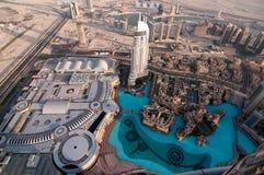 迪拜最大的mal购物中心s购物世界 免版税库存照片