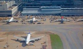 迪拜机场 免版税库存照片