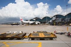 迪拜机场 库存照片
