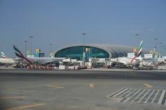 迪拜机场 免版税图库摄影