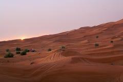 迪拜横向 库存照片