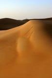 迪拜沙丘 库存照片