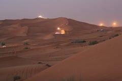 迪拜沙丘 免版税图库摄影