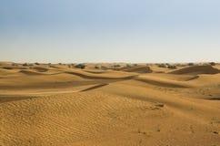 迪拜沙漠沙丘 免版税库存照片