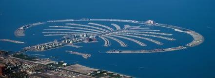 迪拜海岛掌上型计算机 免版税库存图片