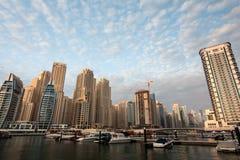 迪拜海滨广场区 库存图片