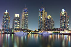 迪拜海滨广场 库存图片