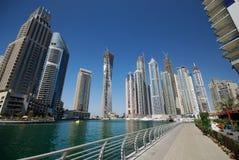 迪拜海滨广场 免版税库存照片