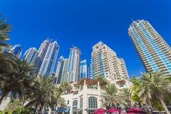 迪拜海滨广场 免版税图库摄影