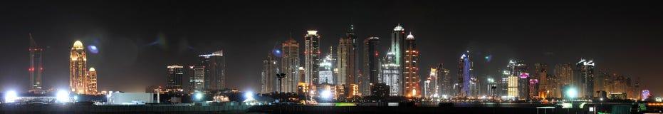 迪拜海滨广场 免版税库存图片