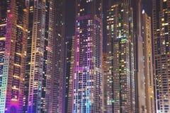 迪拜现代市 库存照片