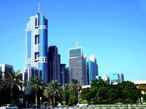 迪拜的摩天大楼 图库摄影