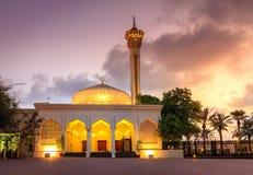 迪拜的盛大清真寺 库存照片