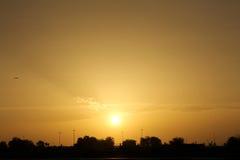 迪拜的看法 库存照片