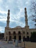 迪拜的-酋长管辖区现代清真寺 库存图片