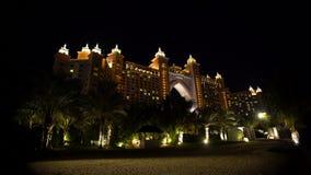 迪拜美丽的大厦在阿联酋 股票录像