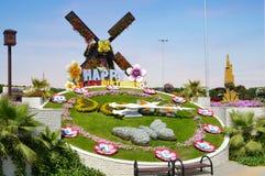 迪拜花园 迪拜旅游业 库存图片