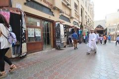 迪拜街视图 库存照片
