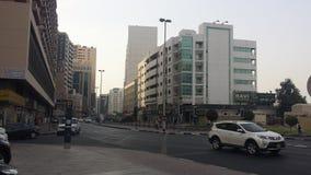 迪拜街道 免版税库存图片