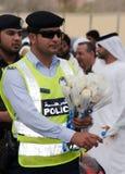 迪拜警察 库存照片