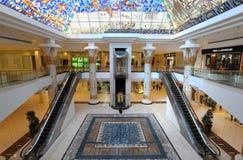 迪拜购物中心wafi 图库摄影
